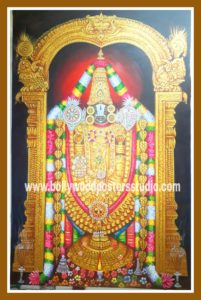 Hand painted Balaji oil paintings on canvas