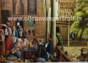famous middle eastern oil paintings