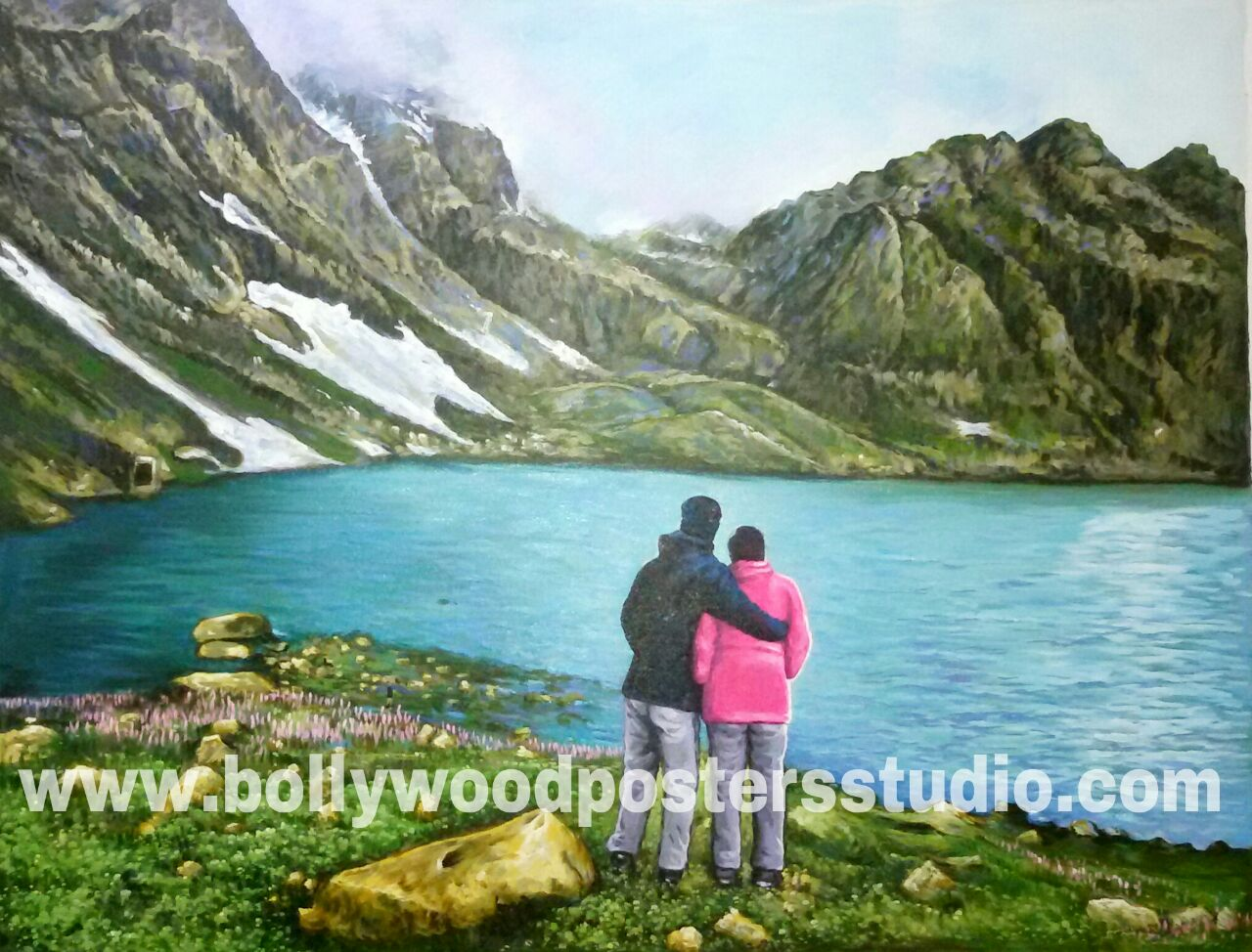 Canvas painting art indian painters