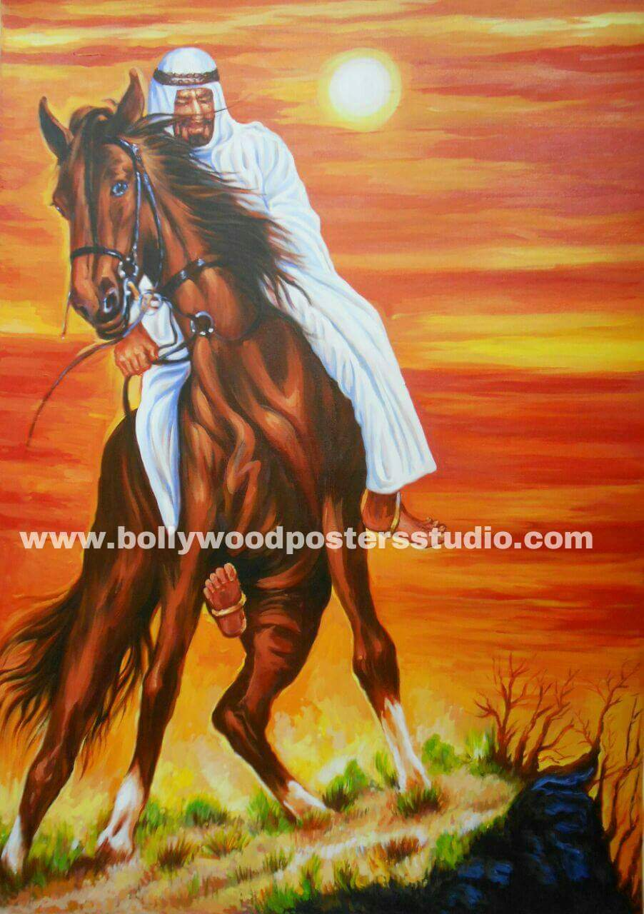 Indian paintings on canvas