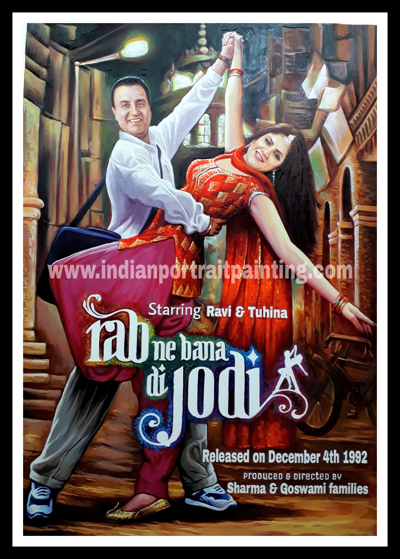 Custom bollywood movie posters