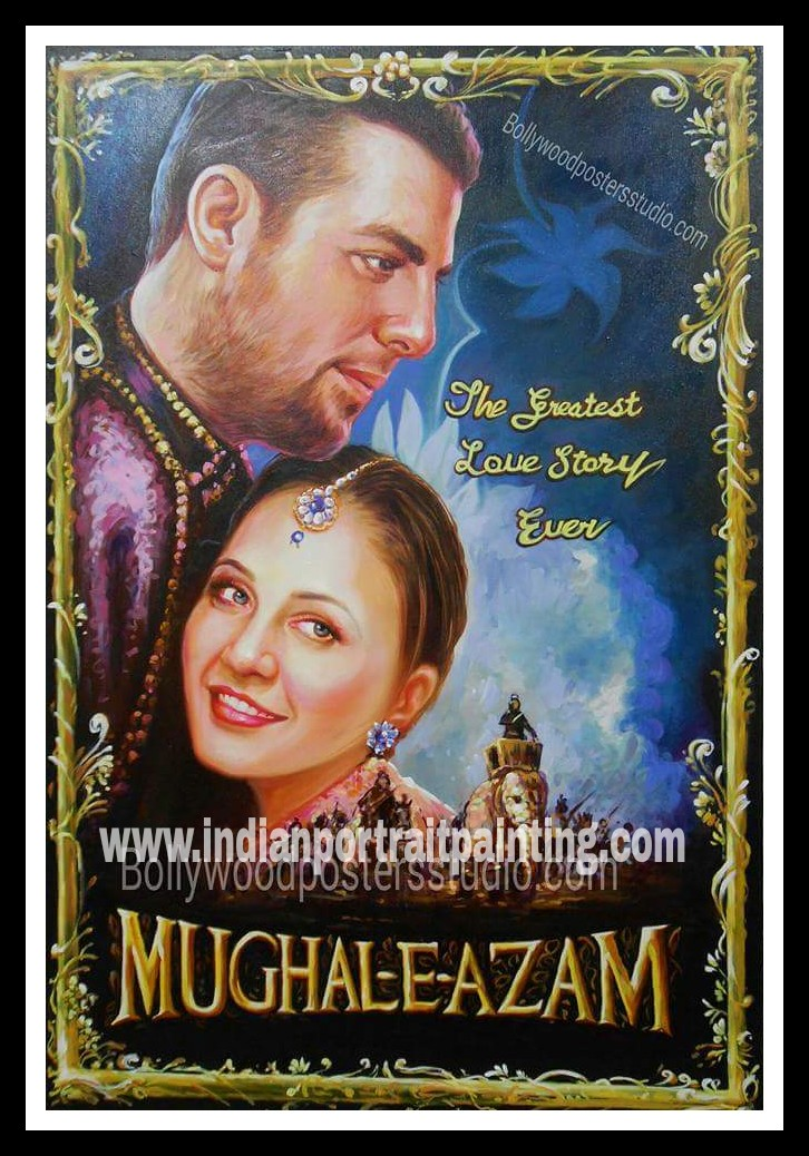 Indian bollywood poster painters