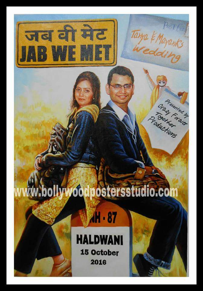 Custom bollywood poster artists