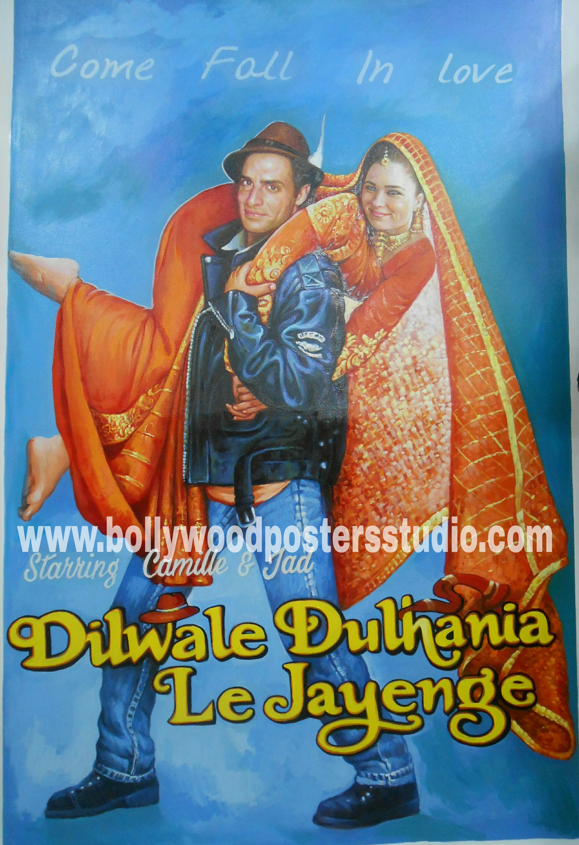 Bollywood poster maker