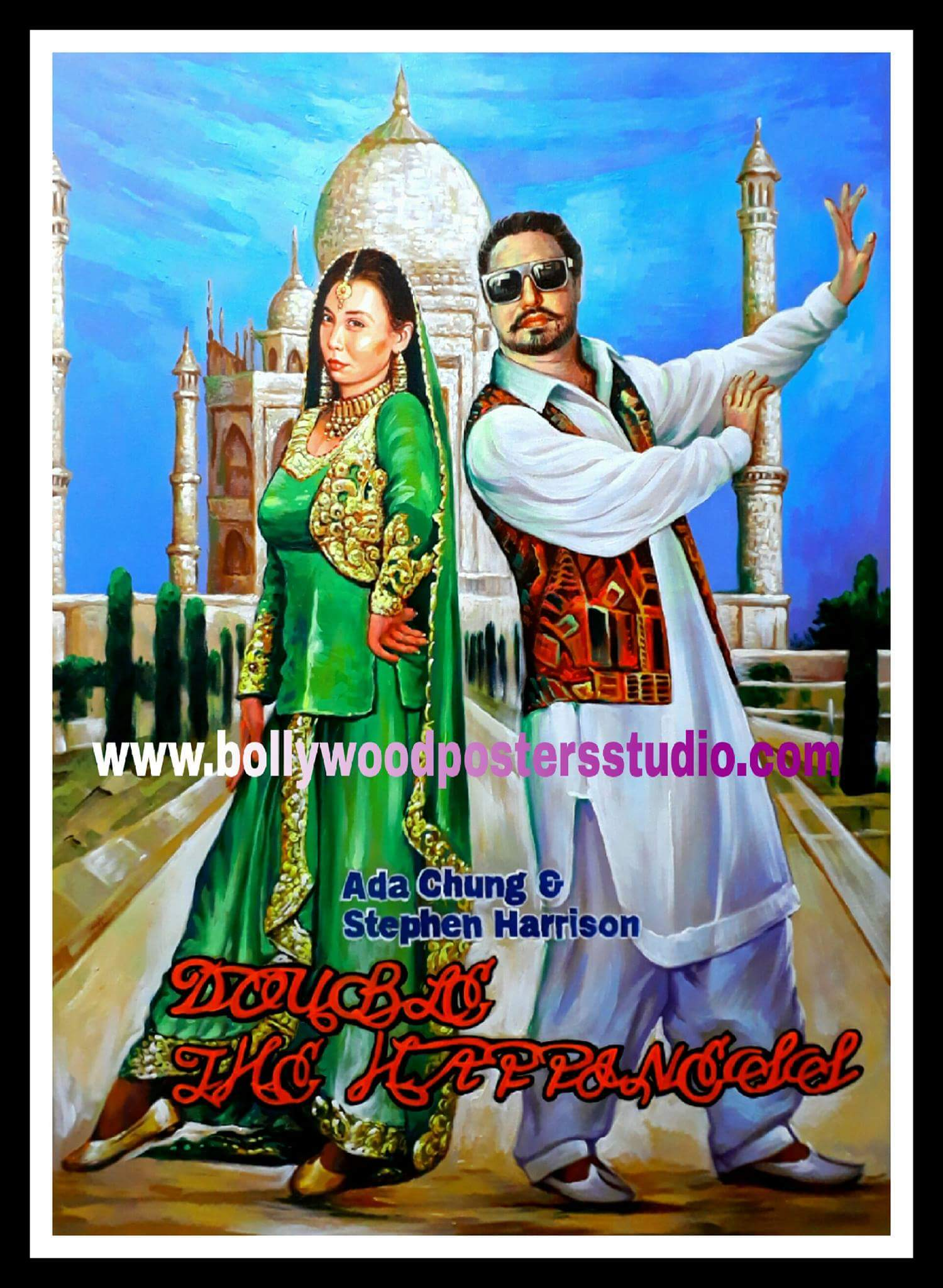 Personalized bollywood posters