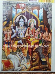 Famous paintings of Indian artist