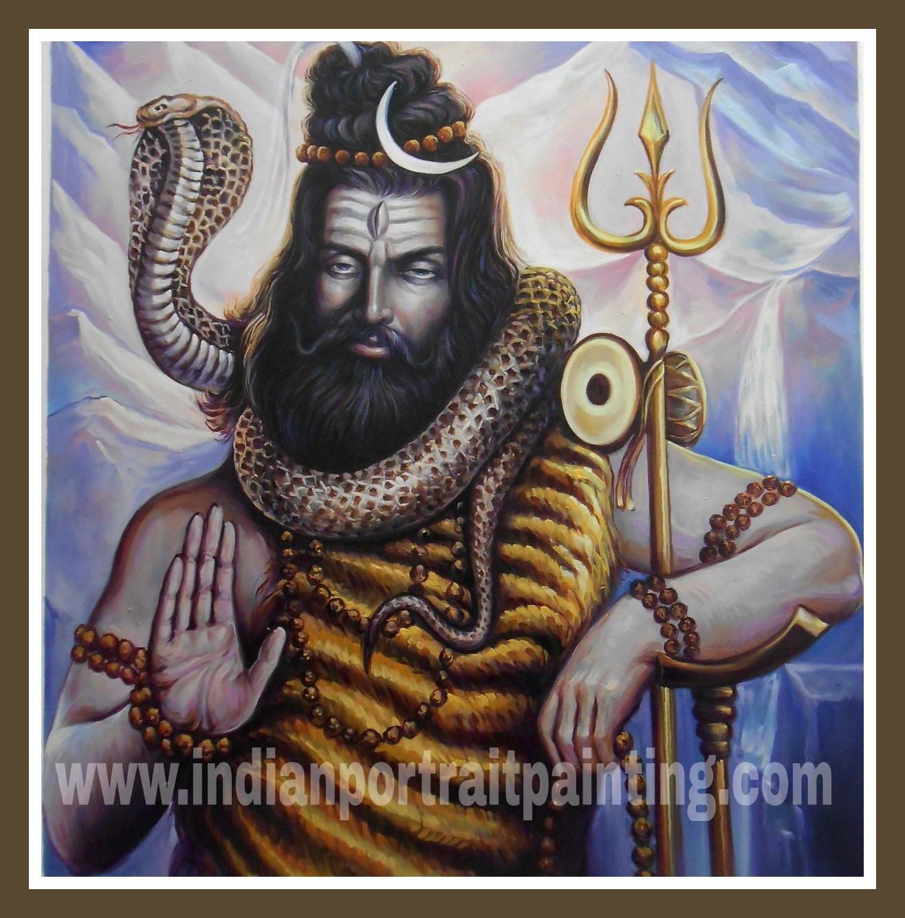 Custom oil painting india