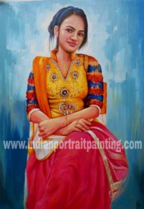 oil portrait painting gallery