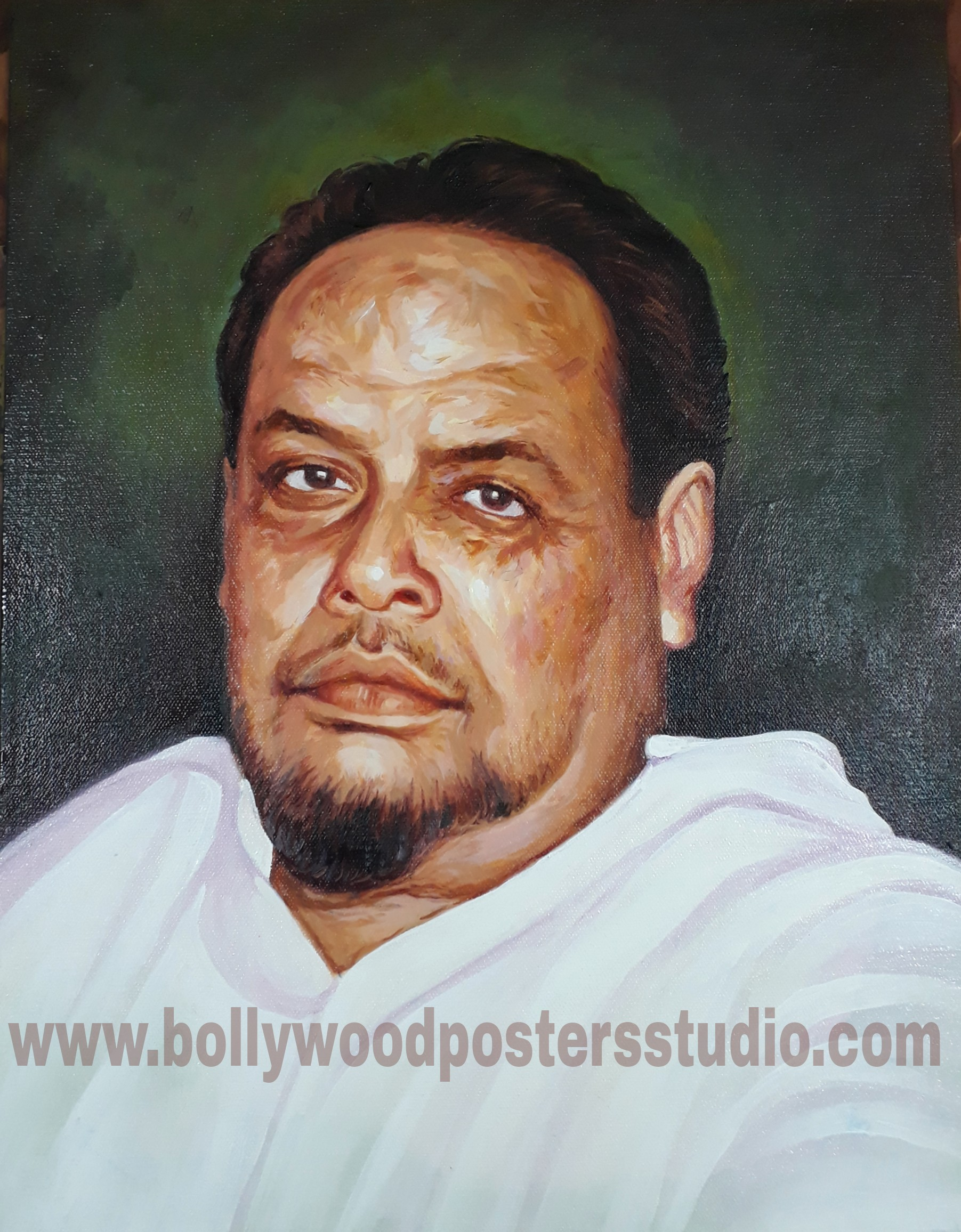Oil portrait painting painters
