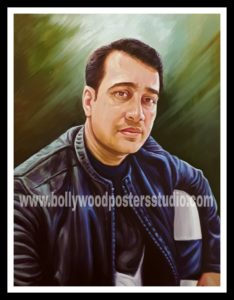 Custom oil portrait painting artists