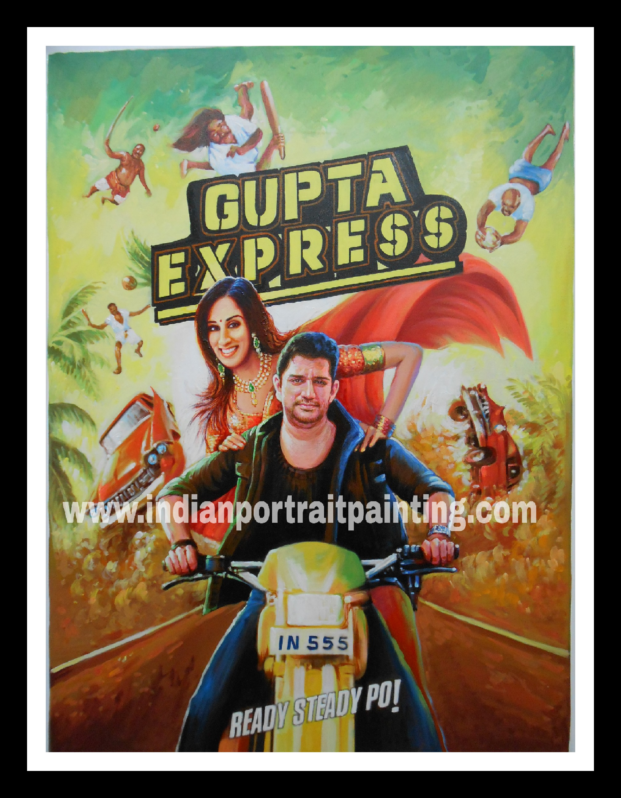 Create customized bollywood movie gift poster