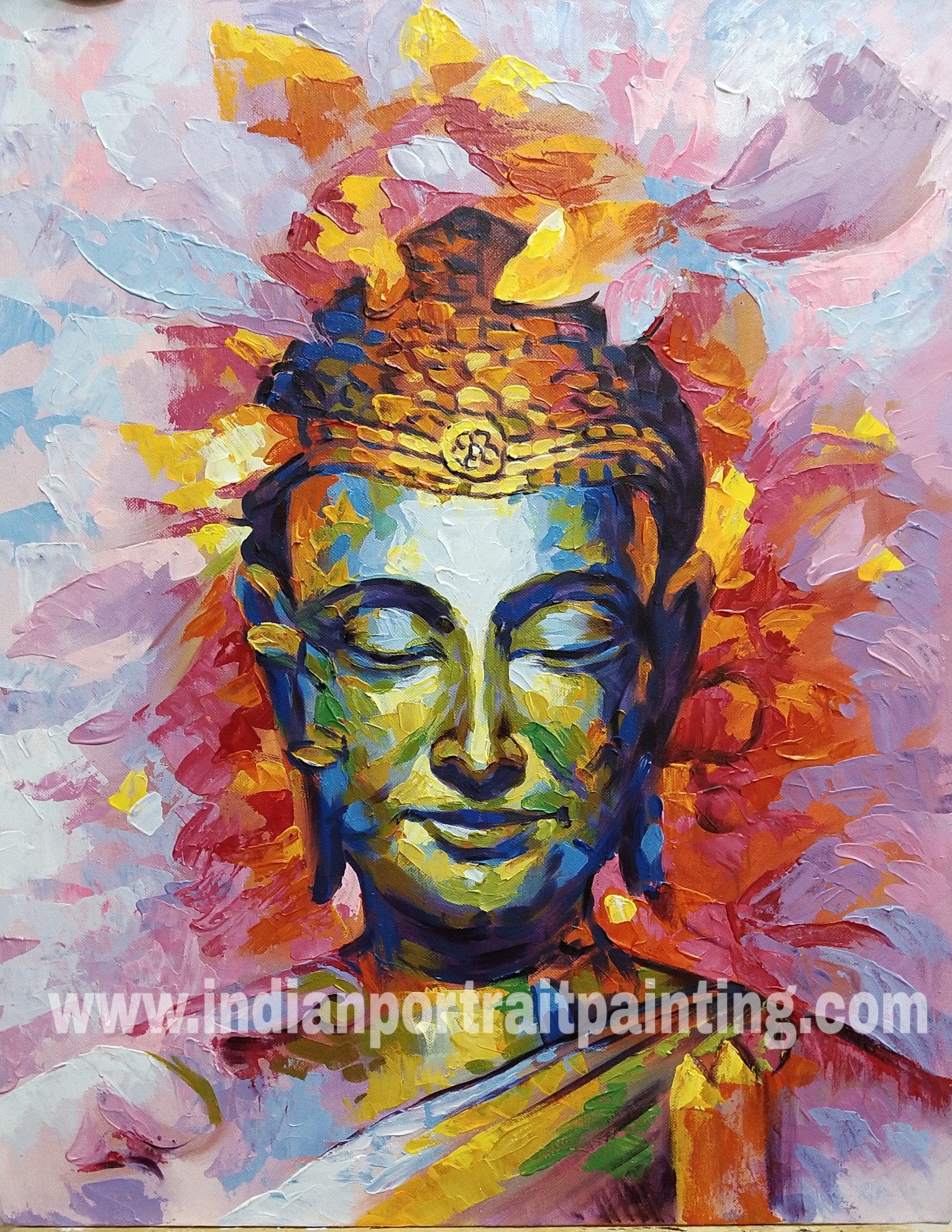 Original Buddha paintings