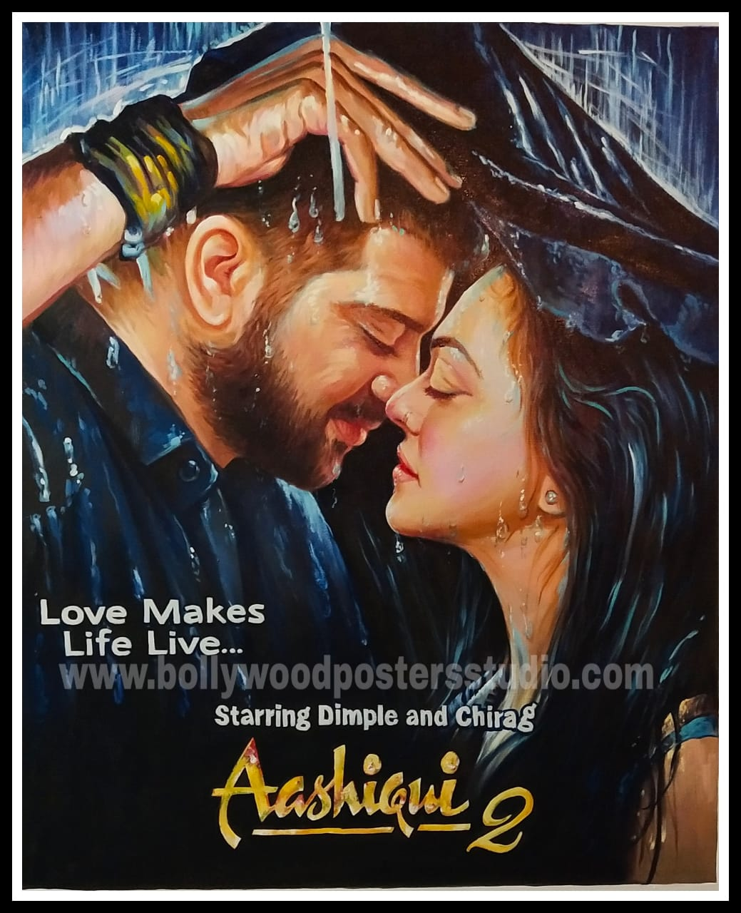 Film poster painting
