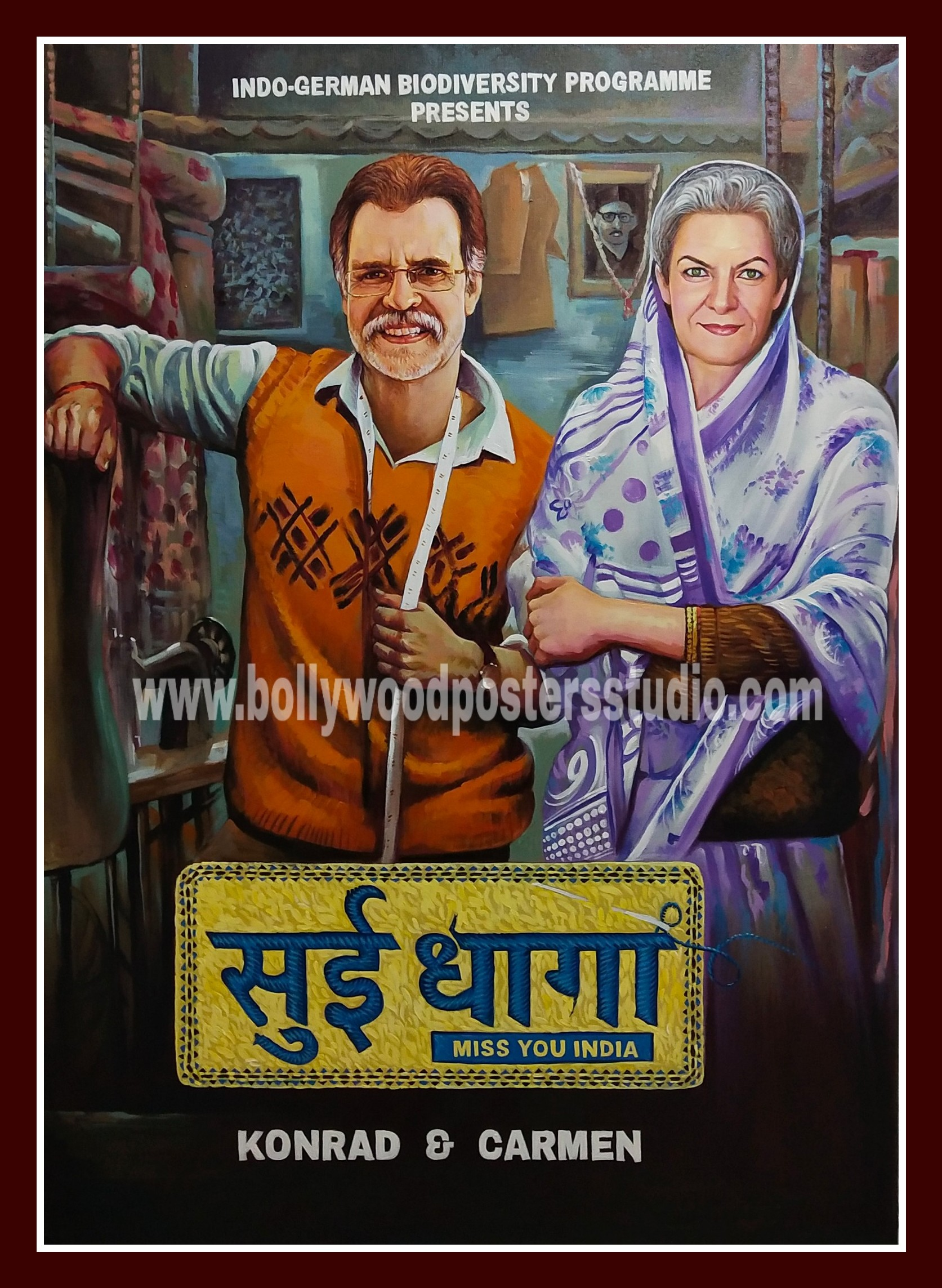 Bollywood poster customized design