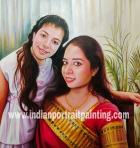 Realism portrait painting