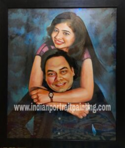 Unique anniversary gifts for spouse - a portrait for lifetime